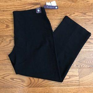 Gloria Vanderbilt black pants size 18 short new